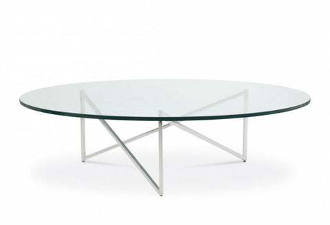 Domicile Glass-Top Coffee Table - Bolier & Co.