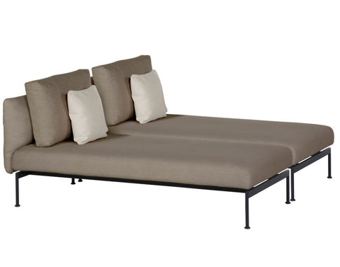 Layout Double Lounger - Barlow Tyrie