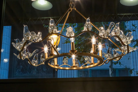 Dove Chandelier - Arteriors Home