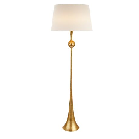 Dover Gild Floor Lamp - Visual Comfort