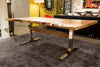 Dover Slab Table - Lancaster Iron & Wood