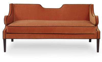 Draper Loveseat - Mr. Brown London