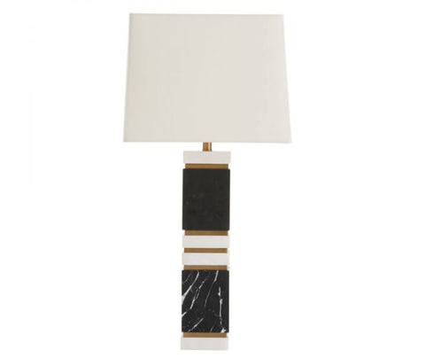 Table lamps modern contemporary sale nyc luxe home dustin lamp arteriors home aloadofball