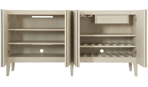 East Hampton Entertainment Console - Bernhardt Furniture