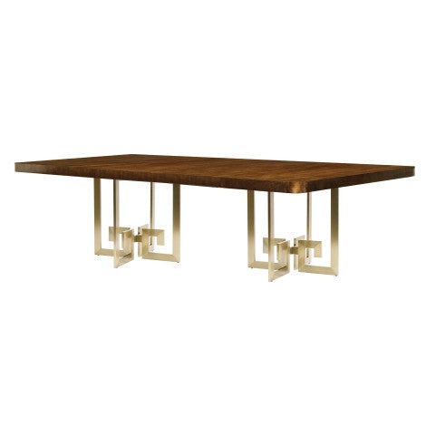Edie Greek Key Dining Table - Belle Meade Signature