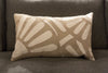 Emily White 12x20 Pillow - V Rugs and Home