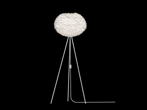 Eos Large White Floor Lamp - Vita Lighting