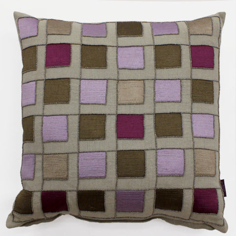 Evin Check Accent Pillow - Sabira Collection