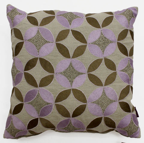 Evin Circles Accent Pillow - Sabira Collection
