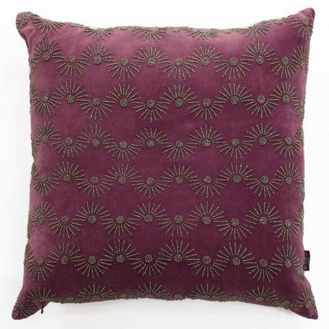 Evin Wave Accent Pillow - Sabira Collection