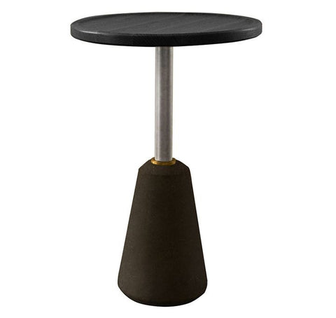 Exeter Black Side Table - Nuevo Living