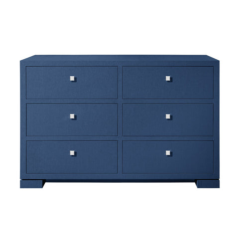 Frances Extra Large 6 Drawer, Blue - Bungalow 5