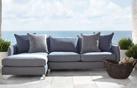 Monterey Left Arm Chaise - Sectional - Bernhardt Exteriors