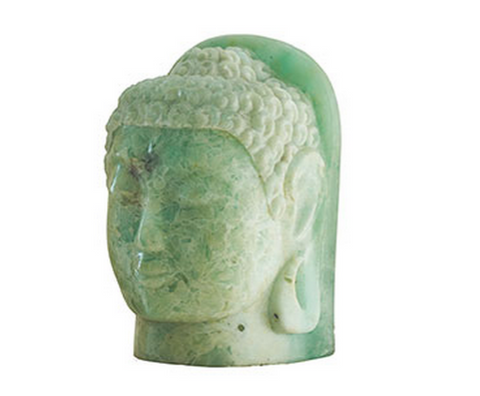 Folded Glass Buddha Head - Phillips Collection