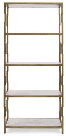 Fontana 5 Tier Bookshelf - Mr. Brown London