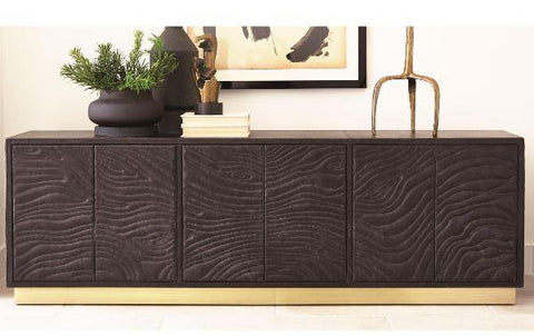 Forest Long Leather Cabinet - Studio A