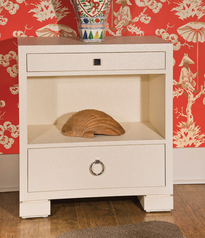 Francis Two Drawer Side Cabinet - Bungalow 5