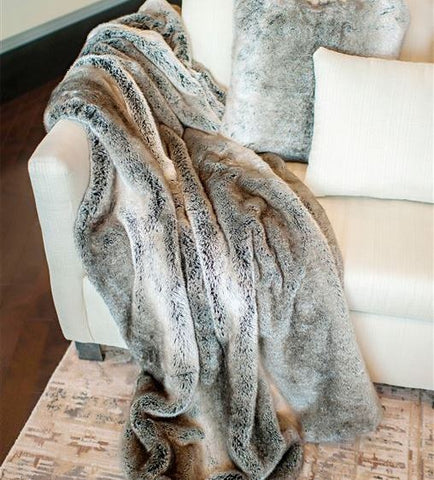 Grey Rabbit Signature Series Throw - Fabulous Furs