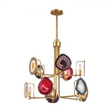 Gallery 10 Light Chandelier - Dimond Home