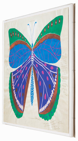 Gallop Express: Paule Marrot Butterfly, Blue - Natural Curiosities