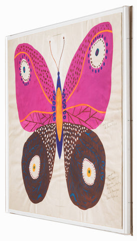 Paule Marrot Butterfly, Pink - Natural Curiosities