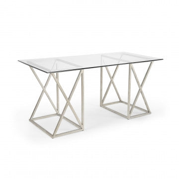 Gilt Desk Silver - Chelsea House