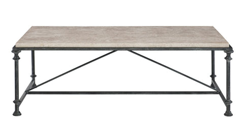 Galesbury Rectangular Metal Cocktail Table - Bernhardt Furniture