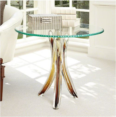 Glass Tusk Table - Global Views