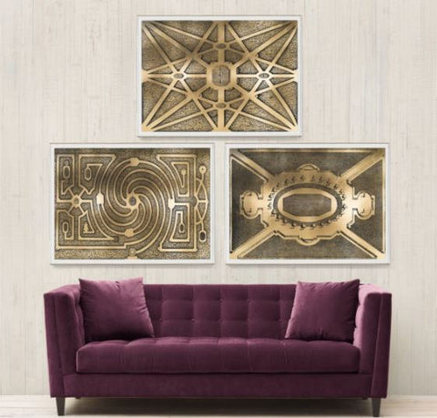Gold Garden Design Collection - Natural Curiosities