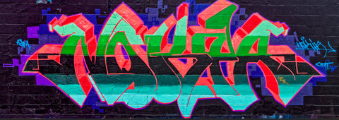 Graffiti 2017 Wall No. 11 Ver. 2 - Michael Spewak