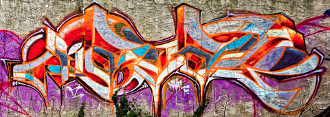 Graffiti 2017 Wall No. 14 Ver. 2 - Michael Spewak