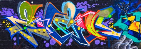 Graffiti 2017 Wall No. 2 Ver. 2 - Michael Spewak