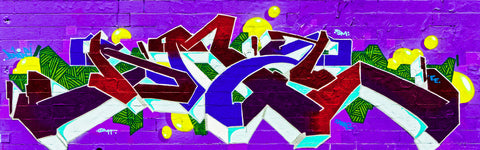 Graffiti 2017 Wall No. 5 Ver. 2 - Michael Spewak