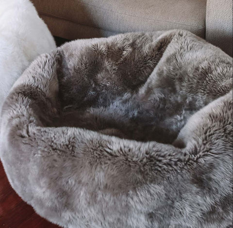 Steel Longwool Bean Bag - Auskin