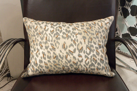 Green Leopard Print Gold Bead - Callisto Home