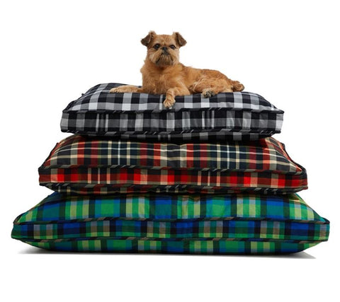 Gregory Peck Plaid Dog Bed - Mr. Dog