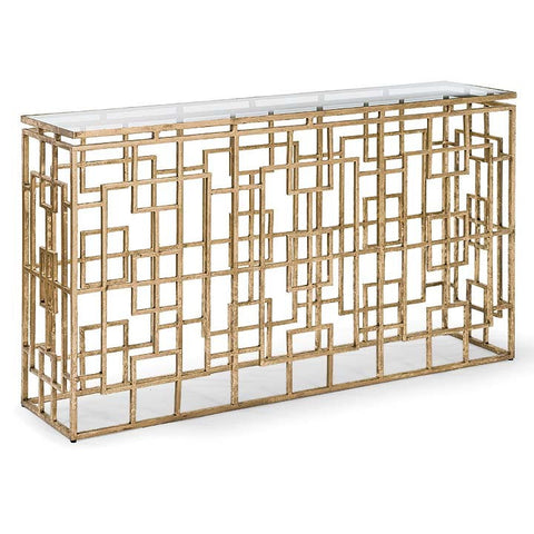Grill Rectangular Console Table - Regina-Andrew Design