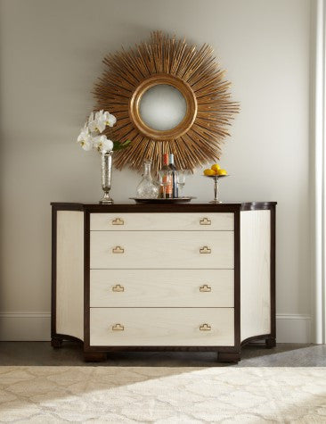 Guy Clipped Corner Credenza - Lillian August