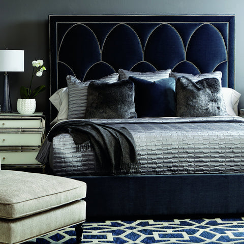 Regan Upholstered Queen Bed - Bernhardt