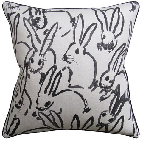 Hutch Black Pillow 22x22 - Ryan Studio
