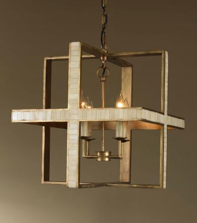 Hanover Chandelier, Ivory Bone - Mr. Brown