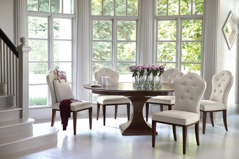Haven Round Dining Table Bernhardt Furniture Luxe Home