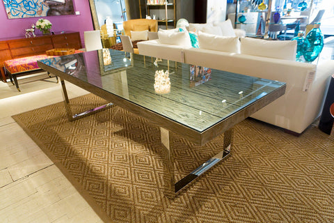 Henley 106 Dining Table Bernhardt Interiors Luxe Home
