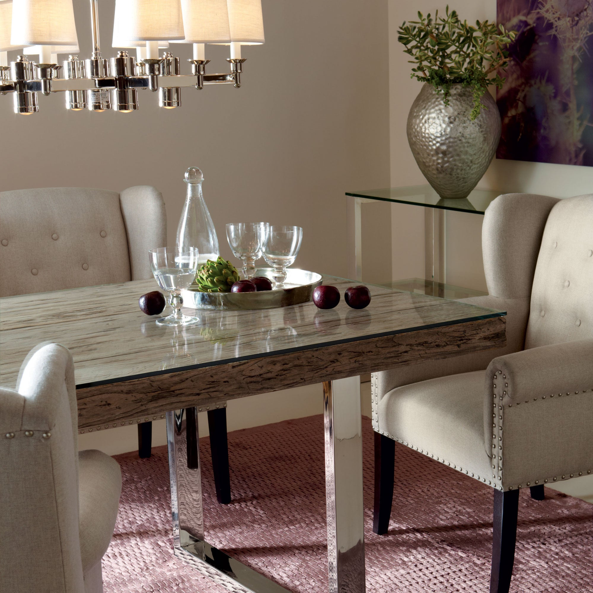 84 dining table extra wide henley 84