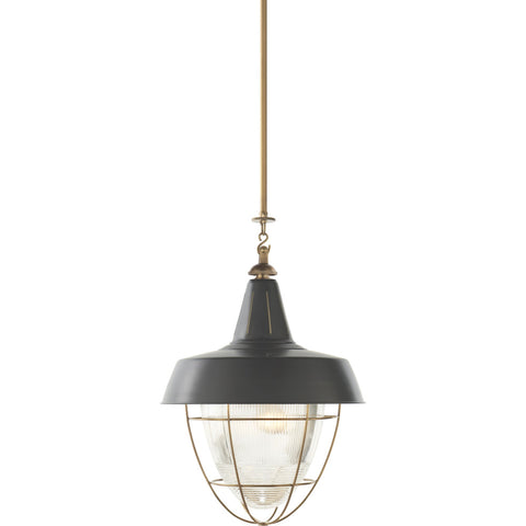 Henry Industrial Hanging Light - Visual Comfort