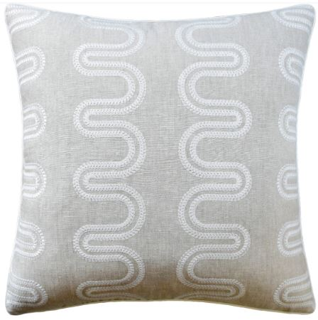 Herriot Way Embroidery Pillow - Ryan Studio