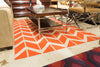 Fallon Rug, Orange - Surya