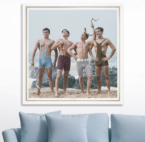 Hunks In Trunks - Trowbridge Gallery