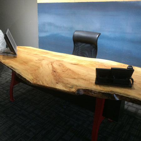 Ambrosia Maple Desk - Wood Shop