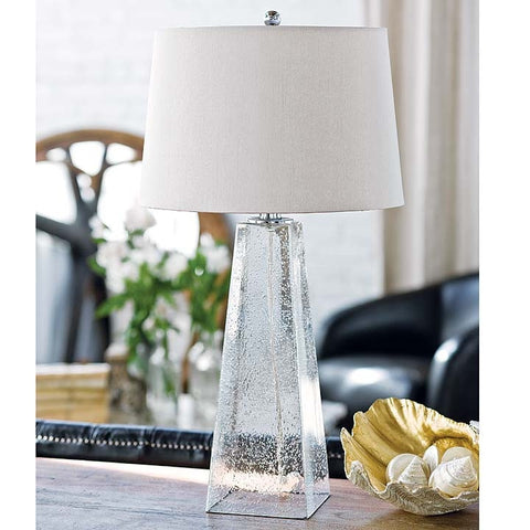Ice Cube Glass Lamp - Regina Andrew Design